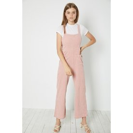 Rollas Cord Admiral Overalls Soft Pink