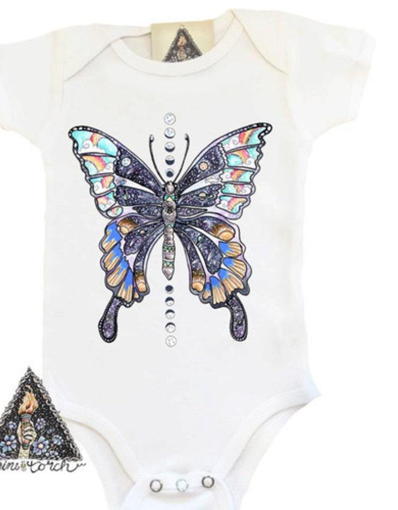 Pine Torch Cosmic Butterfly Bodysuit