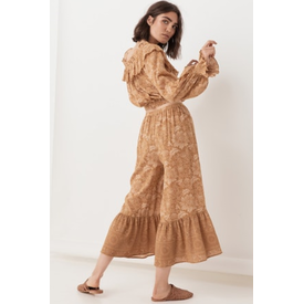 Spell and the Gypsy Collective Lioness Wide Leg Pant - Caramel