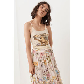 Spell and the Gypsy Collective Mystic Winds Organic Singlet - Cream