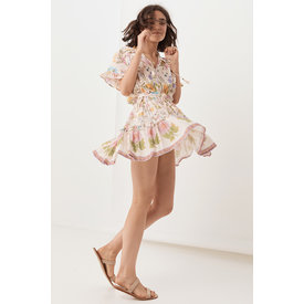 Spell and the Gypsy Collective Wild Bloom Playdress - Cream