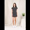 Aaron Mini Dress B&W Stripe