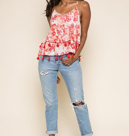 Raga LA Late Bloom Tassel Tank