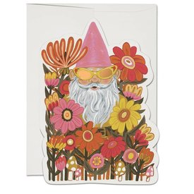 Red Cap Cards Garden Gnomes
