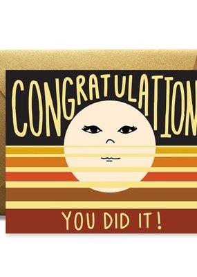 Native Bear Congrats! You Did It