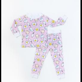 Little Sleepies Breakfast Buddies Pajama Set
