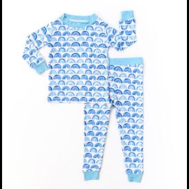 Little Sleepies Rainbow Pajamas