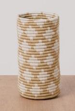 Kazi Soft Gold Almasi Vase