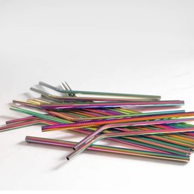 Last Straw Rainbow Straw Set