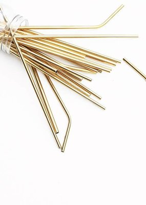 Last Straw Gold Straw Set