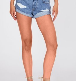 Amuse Society Crossroads Denim Woven Short