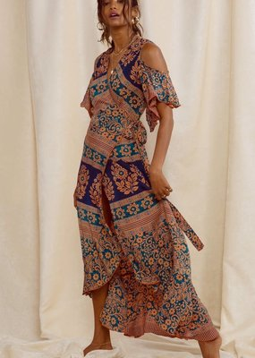 Raga LA Bonfire Haze Wrap Dress
