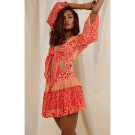 Raga LA Hard Lovin Mini Skirt Red
