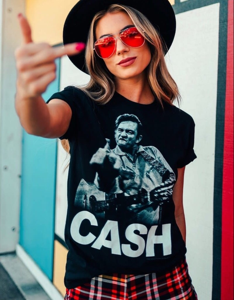 LIFE Clothing Johnny Cash Vintage Tee