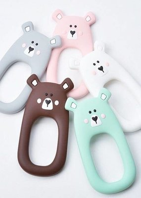 Little Cheeks Bear Teethers