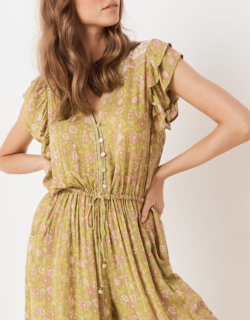 Spell and the Gypsy Collective Dahlia Jumpsuit - Bronze