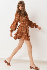 Spell and the Gypsy Collective Aurora Long Sleeve Playdress - Burnt Ember