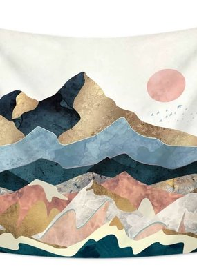 Dorm Tapestries Zen Mountains Tapestry 30x34""