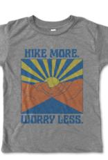 Rivet Apparel Co. Hike More Worry Less Tee