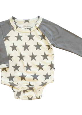 Babysoy Inc. Star Bodysuit