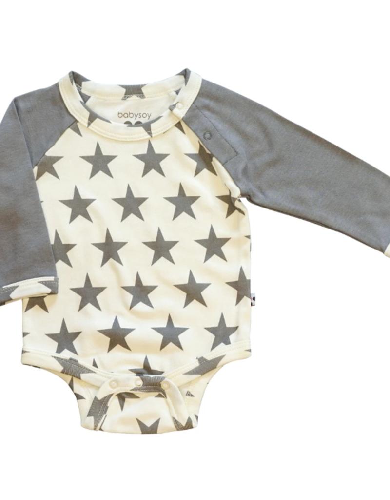 Babysoy Inc. Star Bodysuit