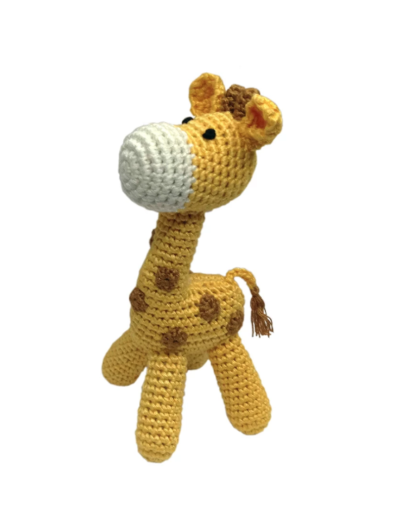 Cheengoo Standing Giraffe Rattle