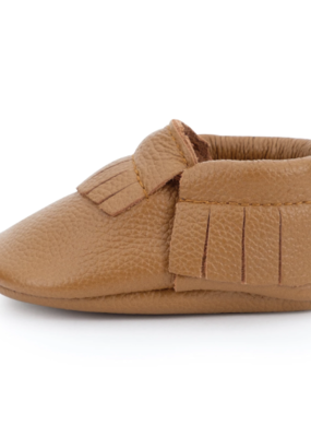 BirdRock Baby Classic Brown Baby Moccasins