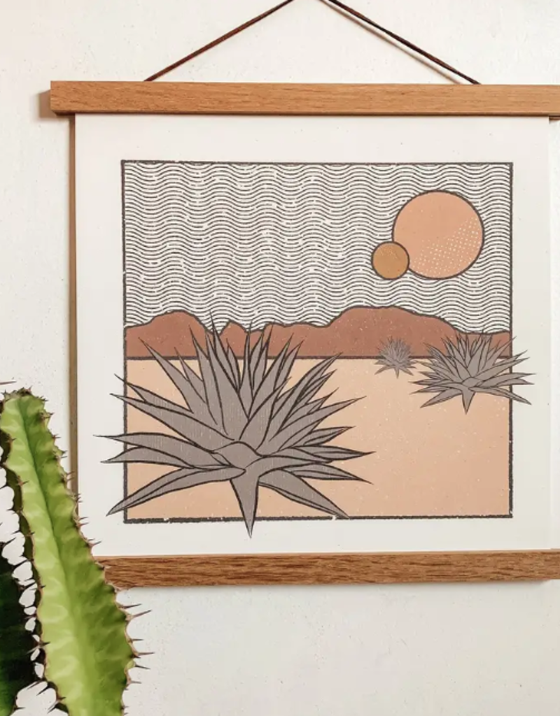 colorbloKC Agave Desert Print