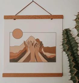 colorbloKC Move Mountains Print