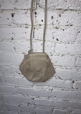 Cut n' Paste Rose Crossbody Pouch Tan