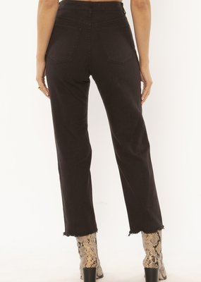 Amuse Society Selena Denim Pant Black