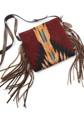 MZ Shadow Leather Fringe Bag