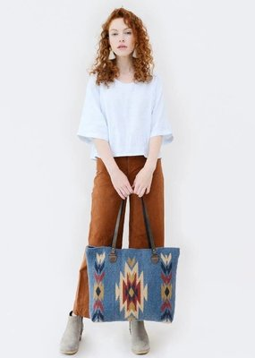 MZ Sparrow's Song Wool Tote