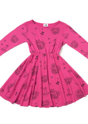 Kira Kids Cat Sundae Skater Dress