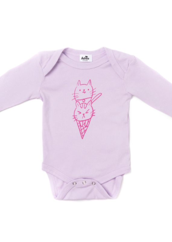 Kira Kids Cat Cone Onesie