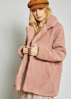 Sage the Label Revival Coat Dusty Rose