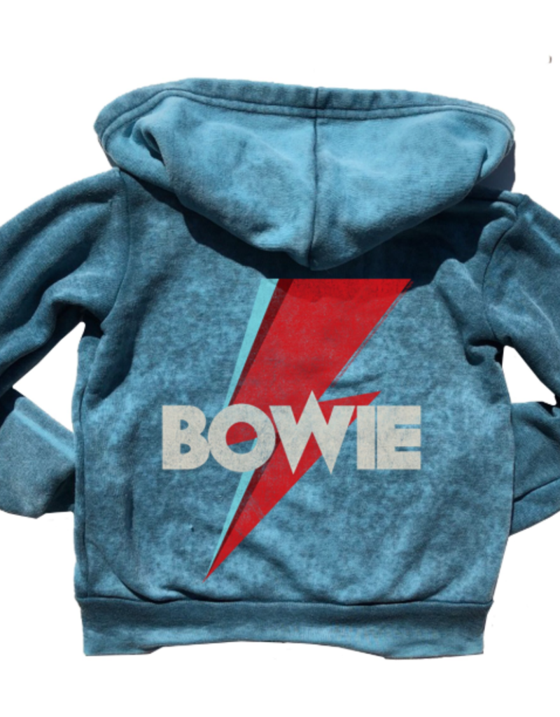 Rowdy Sprout David Bowie Burnout Hoodie
