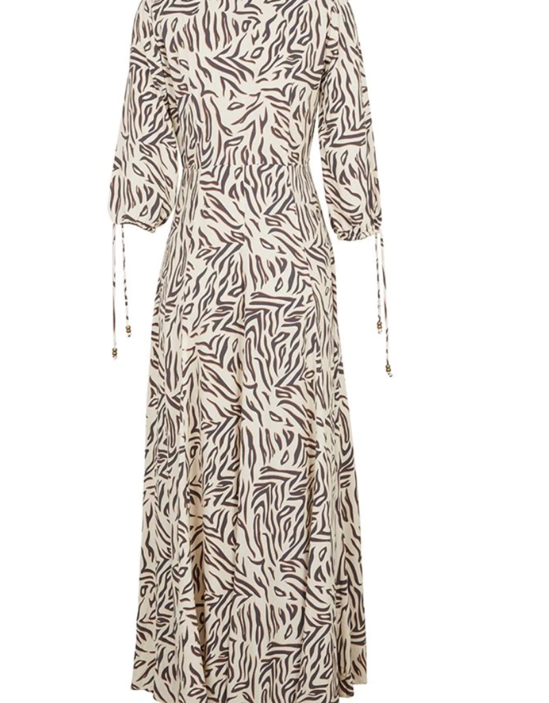 kivari Wayfarer Maxi Dress Zebra