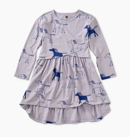 Tea Collection Highland Printed Wrap Dress