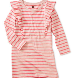 Tea Collection Striped Ruffle Dress