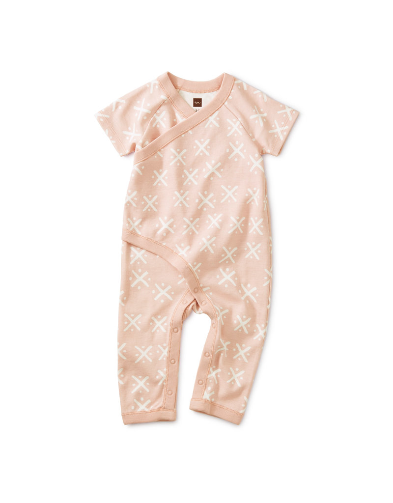 Tea Collection Soft Geo Wrap Romper
