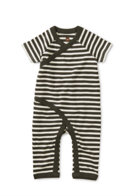 Tea Collection Stripe Wrap Romper