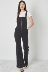 Rollas EastCoast Flare Overall Black Cord