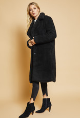 Sage the Label Cityscape Coat Black