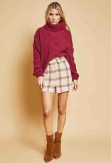 Sage the Label New Street Sweater Burgundy