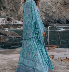 Spell and the Gypsy Collective Buttercup Maxi Kimono Ocean