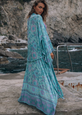 Spell and the Gypsy Collective Buttercup Maxi Kimono Ocean