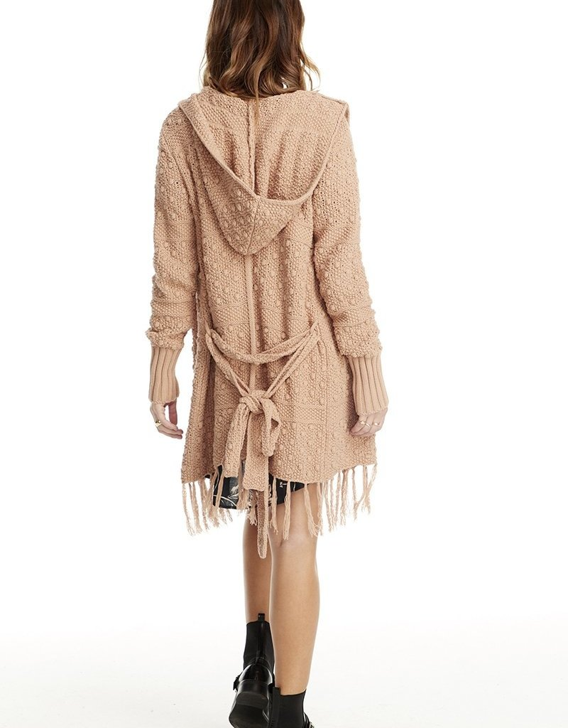 Saltwater Luxe Belted Sweater w/Fringe