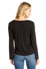 Saltwater Luxe Scoop Neck L/S Tee