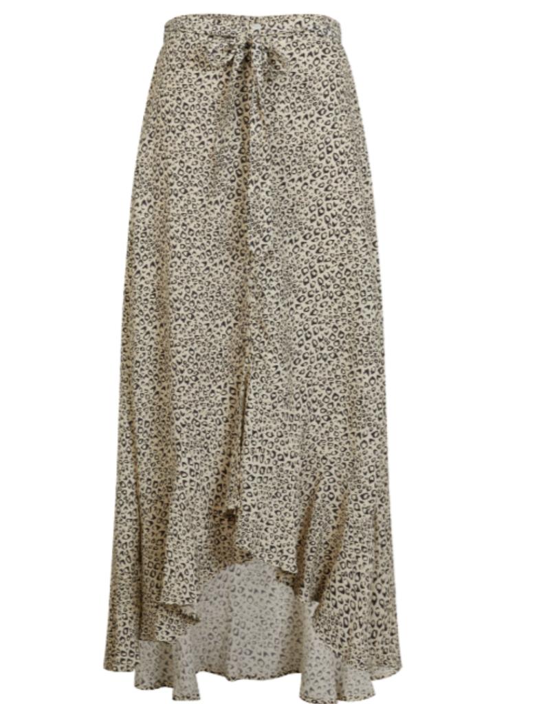 kivari Vale Leopard Maxi Skirt